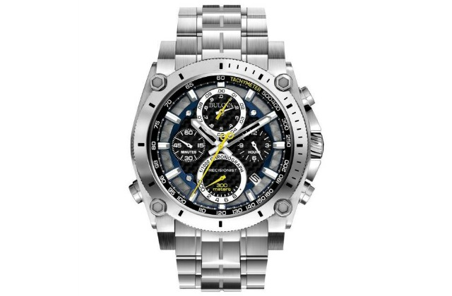 best_watches_under_500_(2400)_KD(30)_Bulova_Men's_96B175_Precisionist_Stainless_Steel_Watch
