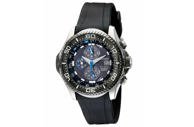 dive_watches_under_1000_Citizen_Men's_BJ2115-07E_Eco-Drive_Depth_Meter_Chronograph_Imperial_Rubber_Dive_Watch