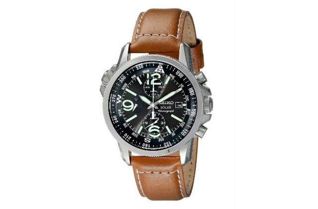 best_watches_for_men_under_200_Seiko_Men's_SSC081_Adventure-Solar_Classic_Casual_Watch