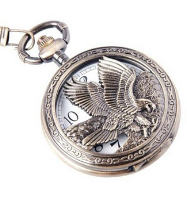 ShoppeWatch Eagle Design Pocket Watch