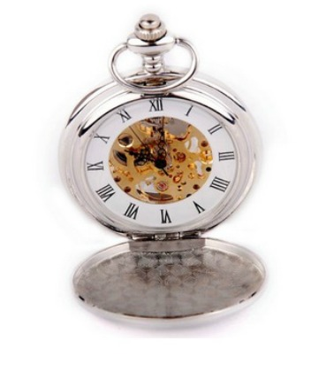 ShoppeWatch Skeleton Pocket Watch