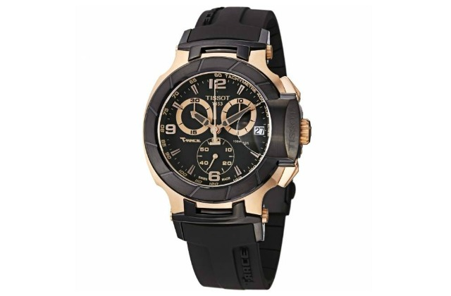 best_watches_under_500_(2400)_KD(30)_Tissot_Men's_T048.417.27.057.06_T-Sport_Rose-Gold_PVD_Black_Rubber_Strap_Watch
