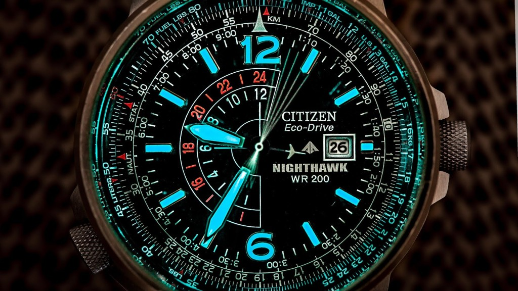 Citizen Men's Nighthawk Eco-Drive Watch BJ7000-52E, Design