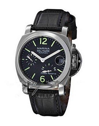 Parnis 40mm Men's Luxury Stainless Steel Watch Power Reserve Automatic Watch